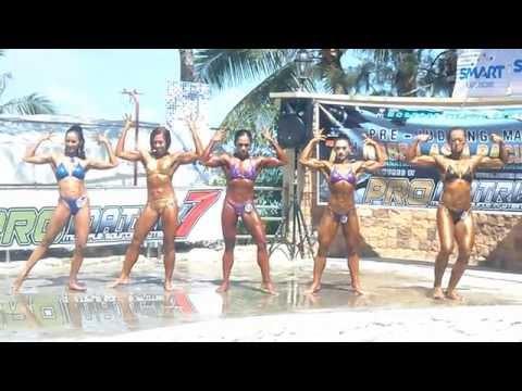 7th NABBA Asia Pacific Womens Open Pre-Judging
