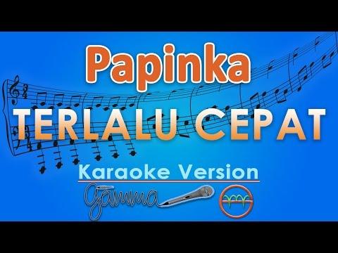 download lagu Papinka - Terlalu Cepat Karaoke  Tanpa Vokal By G gratis