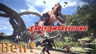 Monster Hunter: World Early Impressions! | Ben's OP Game Show Ep.115 (Pt. 1)