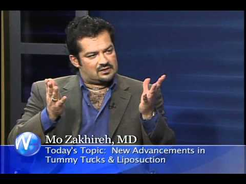 Dr. Mo Zakhireh,plastic surgeon Palm Springs discussing mommy makeovers with Randy Alvarez.