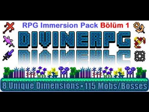 Minecraft FTB RPG Immersion Pack --Bölüm 1--[TÜRKÇE]