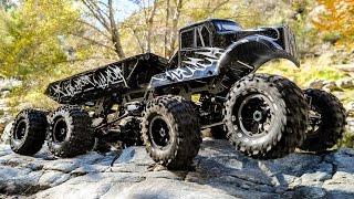 Exceed RC 8x8 MadTorque Monster Truck Crawler in Action 4K