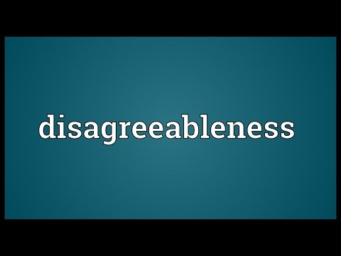 Header of disagreeableness