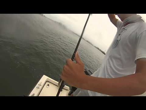 Fishing the Manasquan Inlet in New Jersey
