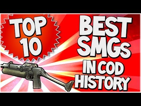 Top 10 BEST SMGs in COD HISTORY (Top Ten - Top 10) | Chaos