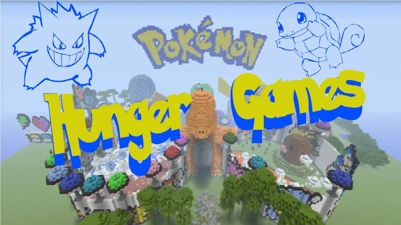 Minecraft Ps3 Pokemon Hunger Games Download Youtube