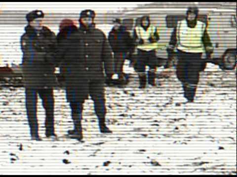 катастрофа года - крушение самолета в Челябинске