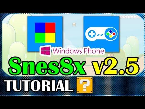 SNES8X v2.5 - Emulador para WindowsPhone