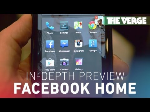 Facebook Home: an in-depth preview on the HTC First