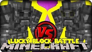 Minecraft - LUCKY BLOCK BOSS CHALLENGE - STONE GOLEM! (Lucky Block Mod )