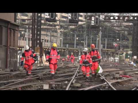 Mise en place de la tour de contrôle de Paris Gare de Lyon