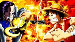 One Piece: Luffy VS Crocodile Completo [DUBLADO]