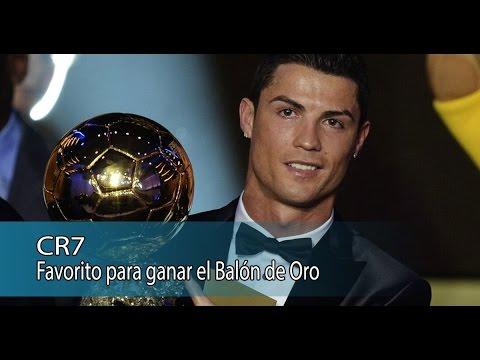 CR7 el favorito para ganar el Balón de Oro
