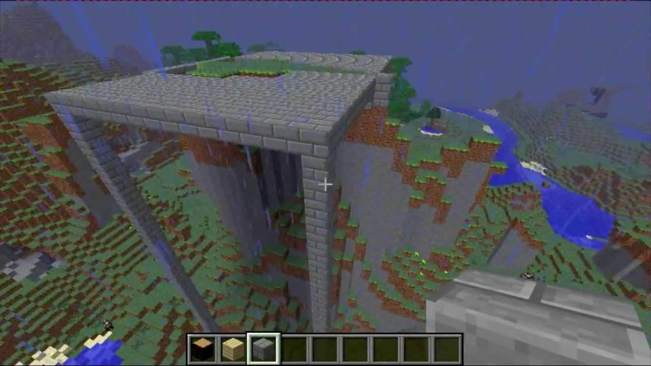 Minecraft construction d 39 un chalet sur flanc de montagne ep1 youtube - Comment faire un chalet dans minecraft ...