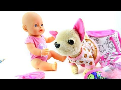Видео для девочек - Завтрак для куклы Эмили - Как мама 3