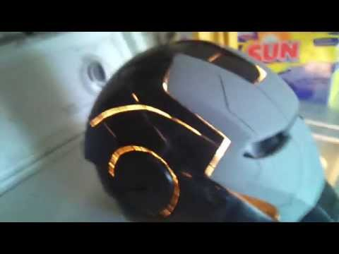 Mark TRON V Iron Man helmet