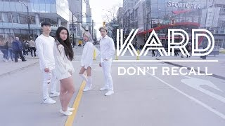 """[KPOP IN PUBLIC VANCOUVER] K.A.R.D: """"Don't Recall"""" Dance Cover [K-CITY]"""