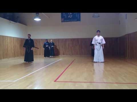 Combate por equipos 3ª liga de madrid de iaido