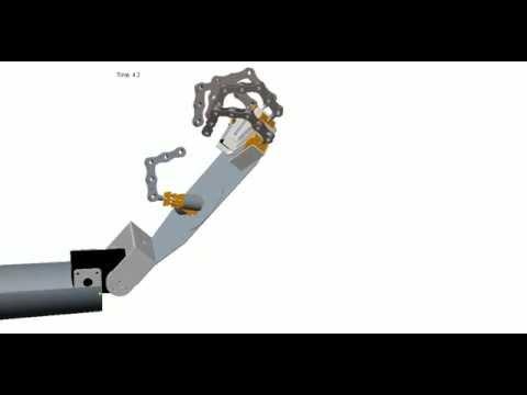 Humanoid Robotic Hand (Arm) animation -5