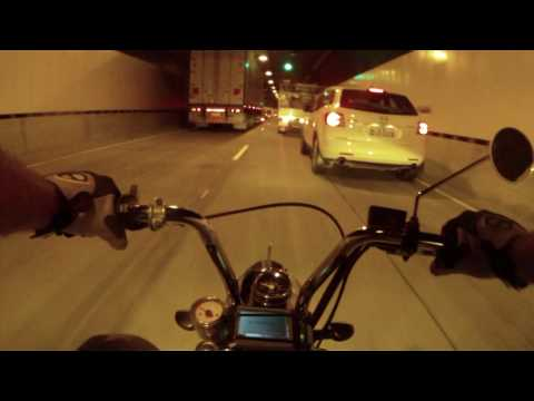 Honda Z50 Monkey Bike Clem7 Tunnel Run