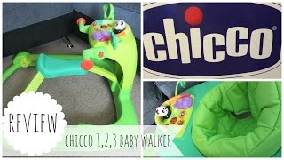 CHICCO 1, 2, 3 BABY ACTIVITY WALKER REVIEW* | THE KNOTT BUMP & US