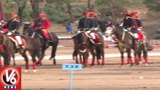 Sports Minister Vijay Goel Launches 35th All India Equestrian Championship | Hyderabad | V6 News
