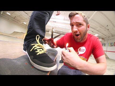Can We Break It? / Bulletproof Skate Shoelaces