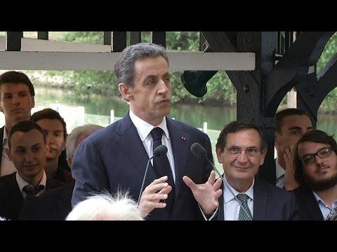 Nicolas Sarkozy compare l'afflux de réfugiés à une grosse fuite d'eau