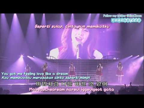 Girls' Generation - Day By Day [2010 Into The New World Asia Tour] (Chae Indo Subs)