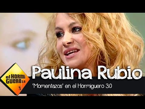 Los ocho momentos más divertidos de la entrevista con Paulina Rubio en El Hormiguero 3.0