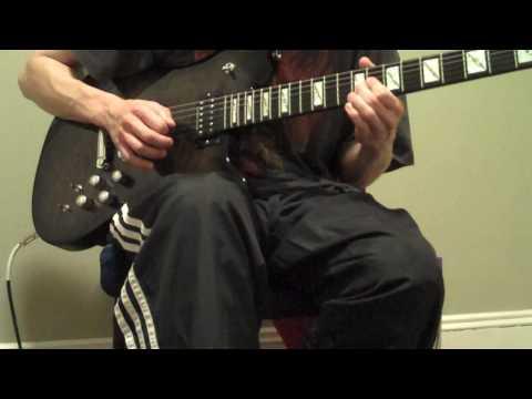 Randy Rhoads Suicide Solution Live Solo Ozzy Osbourne Tribute Jackson Guitars Mark Morton Signature