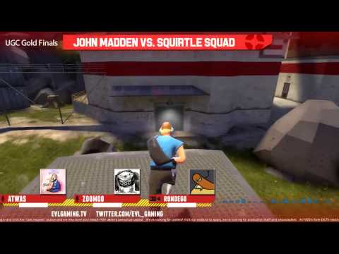 UGC Gold Grand Finals: John Madden vs. Squirtle Squad w/ Atwas & Zoomoo - 1 / 2