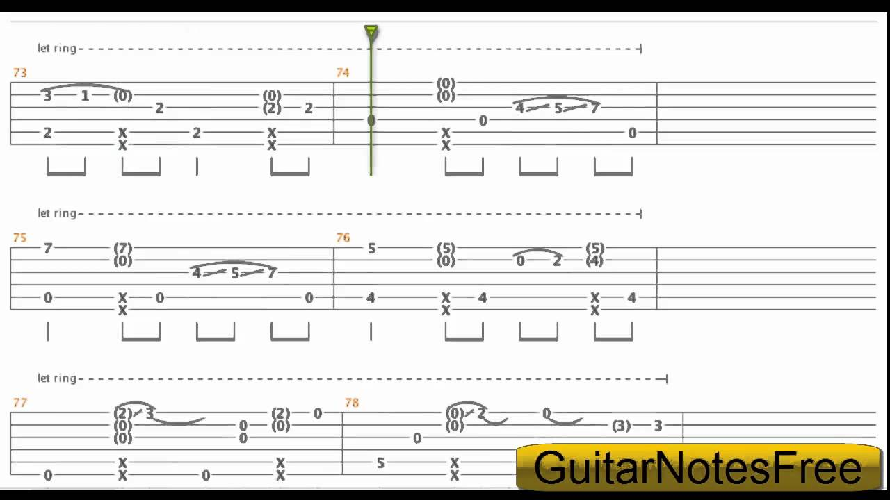 Happy New Year - Sungha Jung Guitar Tab HD - YouTube
