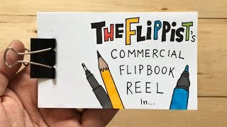 The Flippist Commercial Flipbook Reel