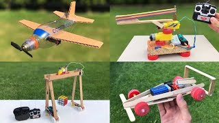 4 Amazing ideas and incredible DIY Toys for Fun