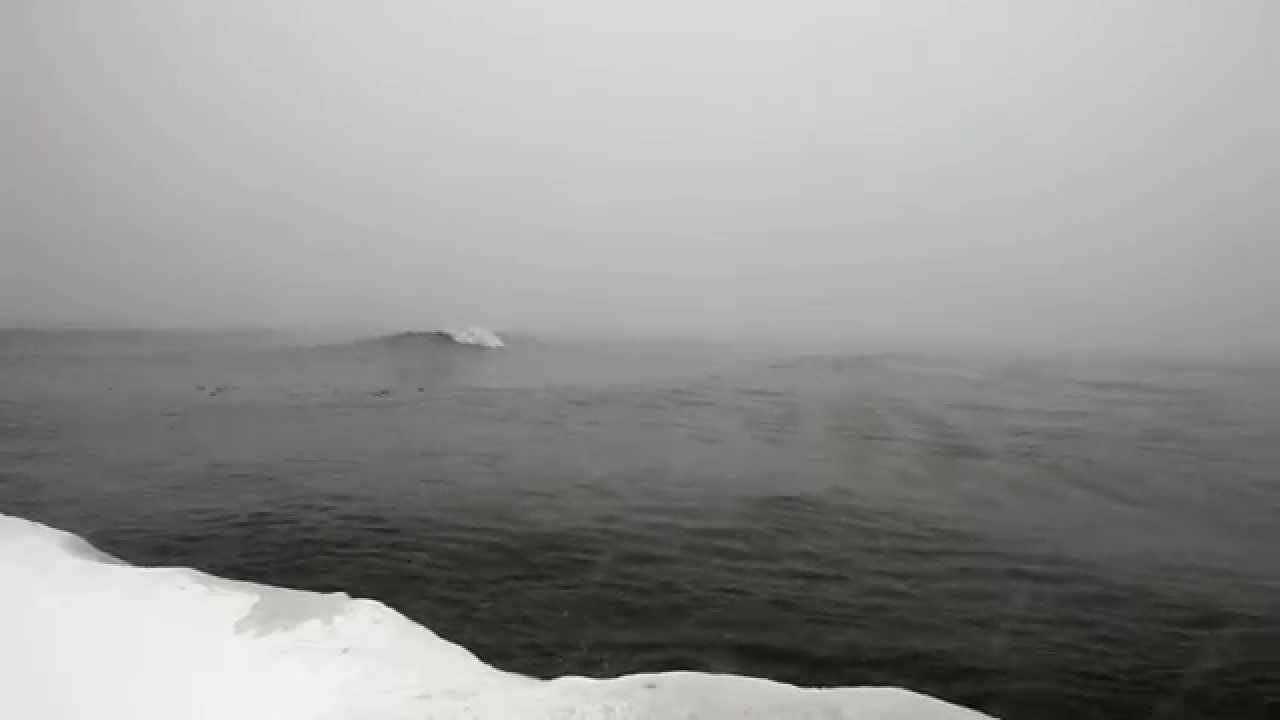 Surfer à Torronto par -20°C