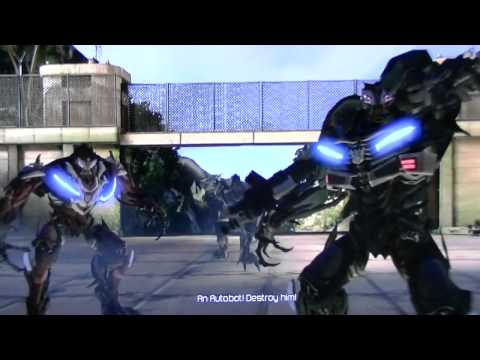 Transformers 3 Dark Of The Moon Game Ps3 Ch 1 Part 1 2. Hd video