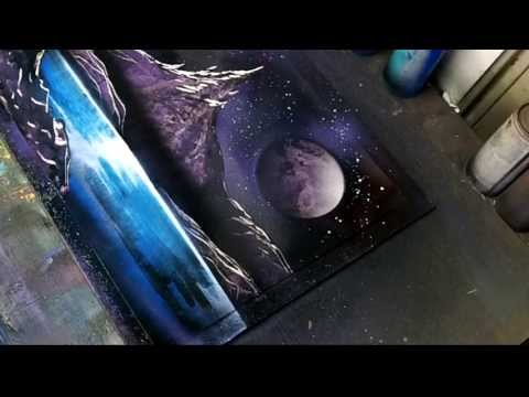 Tutorial Purple Spacescape