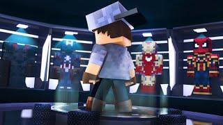 Minecraft: OS VINGADORES #2 - MÁQUINA DE HERÓIS!