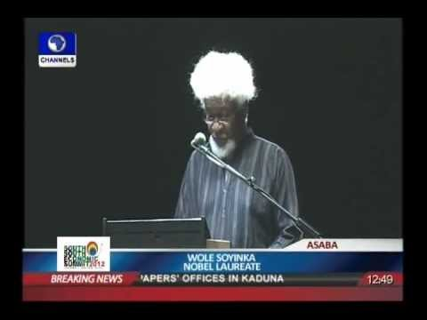Wole Soyinka: mission the future
