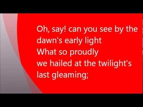 Lyrics of National Anthem of America us National Anthem Lyrics