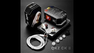 QKZ CK 8 EarPhone Review
