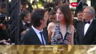 Charlotte Gainsbourg et Yvan Attal - Cannes Festival closing ceremony - 24/MAY/2009