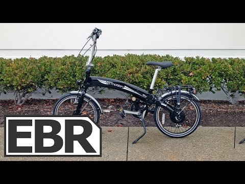 Easy Motion Neo Volt Video Review - Folding Electric Bike with Fenders, Rack and Dynamo Lights