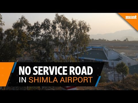 Why is Shimla a critical airport?