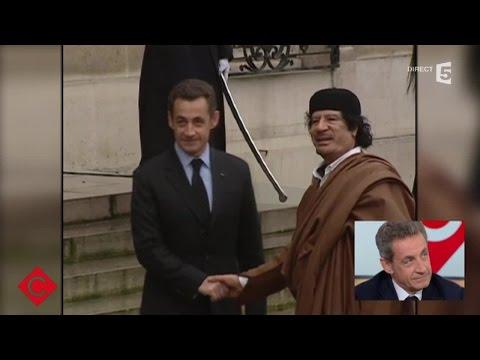 Les faits et gestes de Nicolas Sarkozy - C à vous - 28/01/2016