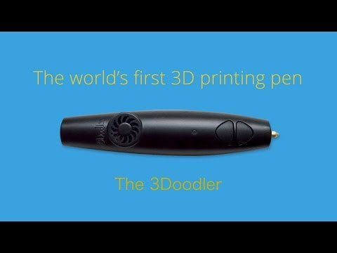 3Doodler 3D Printing Pen from ThinkGeek