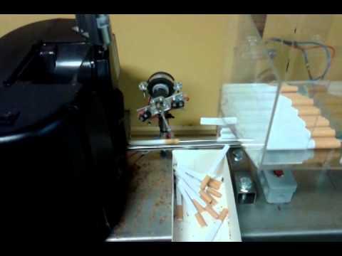 Automatyczna nabijarka gilz. maszyna do papierosów. produkcja papierosów. Cigarette machine