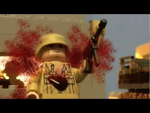 LEGO WW2: NORTH AFRICA BATTLE (STOPMOTION)