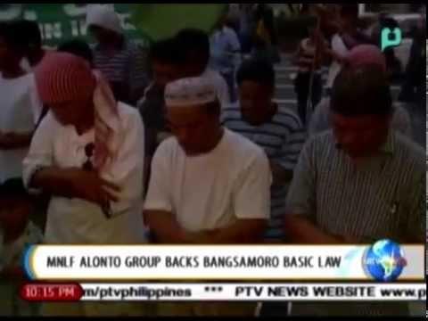[NewsLife] MNLF Alonto group backs Bangsamoro Basic Law [01|19|15]